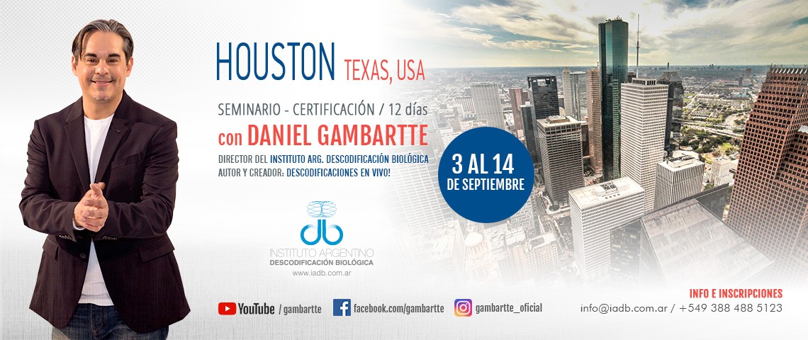Seminario - Certificación IADB - Houston, Texas, USA / 2019